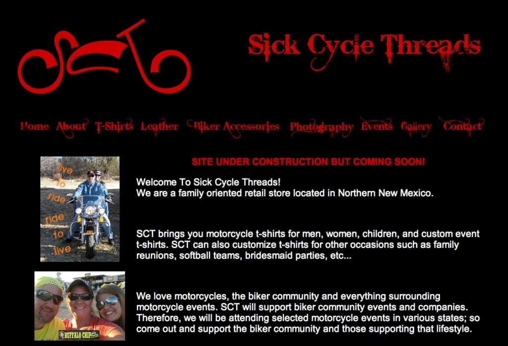 Sick Cycle Threads Website