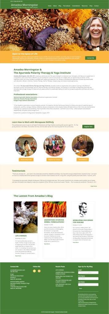 Amadea Morningstar Website