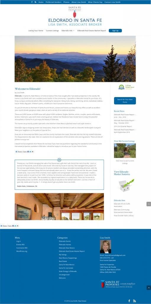 Santa Fe Properties Website