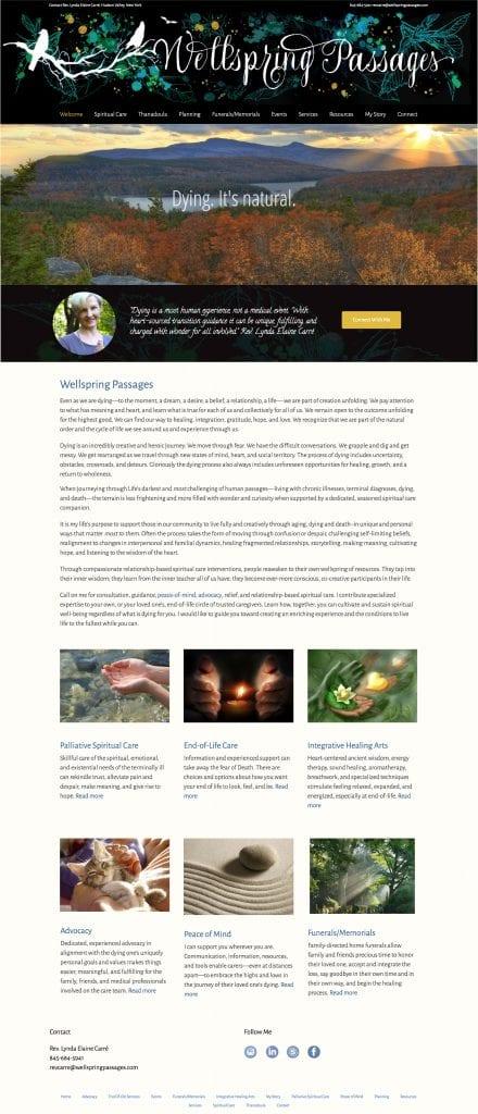Wellspring Passages Website